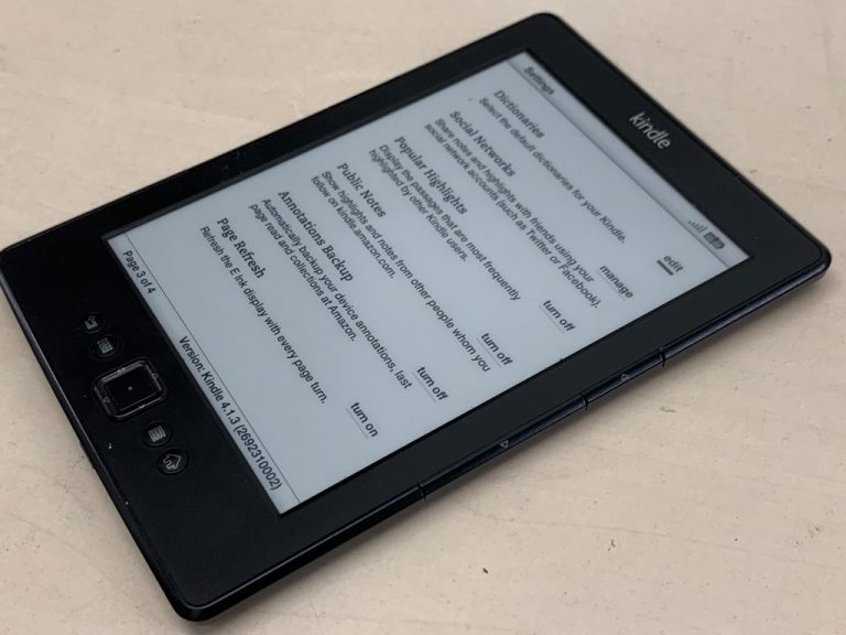 Amazon Kindle Oasis e-reader getest als beste